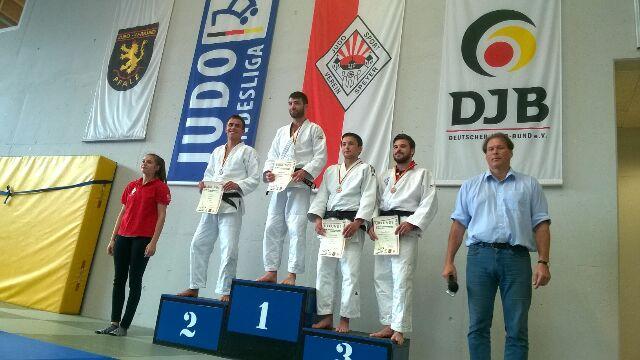 Tobias Teucke gewinnt Bronze beim Ranglistenturnier des DJB in Speyer
