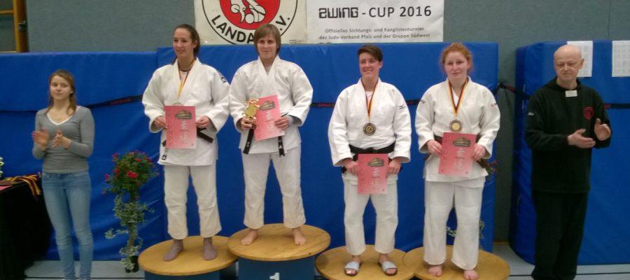 5 Medaillen beim internationalen Zwing Cup in Landau.