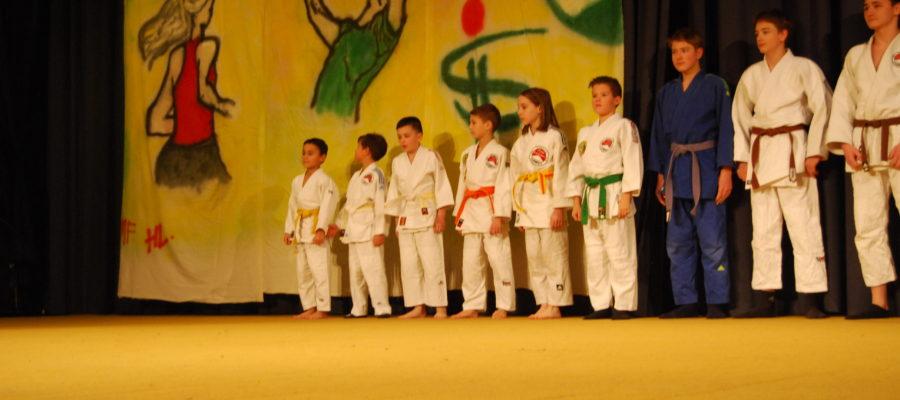 Judovorführung bei Sportlerehrung 2017