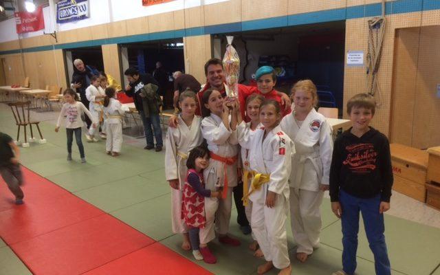 8 Einzelnsiege und der beste Verein beim Jigoro Kano Turnier U-12 in Lebach-Steinbach.