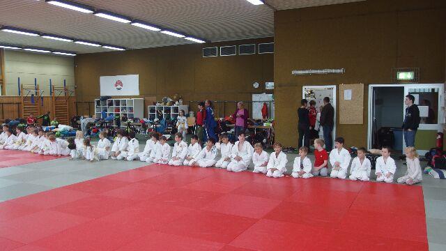 63 Teilnehmer bei der Judo Safari